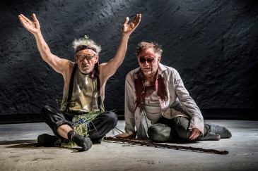 KING LEAR by Shakespeare, , Writer - William Shakespeare, Director - Jonathan Munby, Designer - Paul Wills, Lighting Oliver Fenwick, The Duke Of Yorks Theatre, 2018, Credit: Johan Persson/