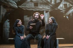 Fiddler-on-the-Roof-West-End-Musical-Two-Womena-and-a-Man-on-a-bench