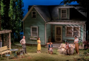 ALL MY SONS by Miller, , Writer - Author Miller, Director - Jeremy Herrin, Set and Costume design - Max Jones, Lighting - Richard Howell, The Old Vic Theatre, London, 2019, Credit: Johan Persson